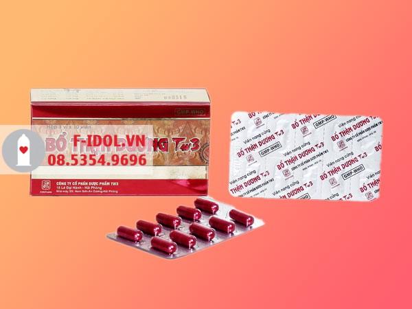 Thuốc Bổ Thận Dương TW3 mang lại hiệu quả cao trong việc nâng cao chức năng sinh lý nam