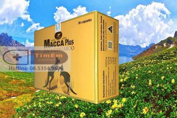 Tác dụng phụ của Macca plus