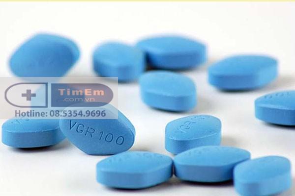 Tác dụng phụ của Viagra 100mg