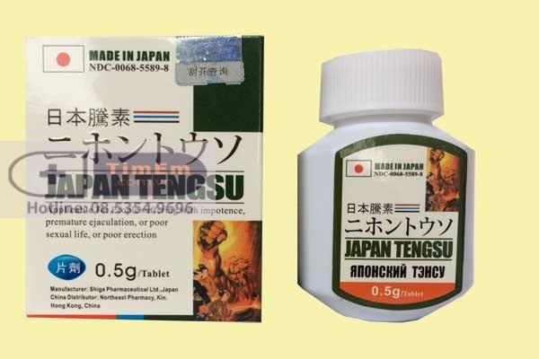 Thuốc cường dương Japan Tengsu giá bao nhiêu?