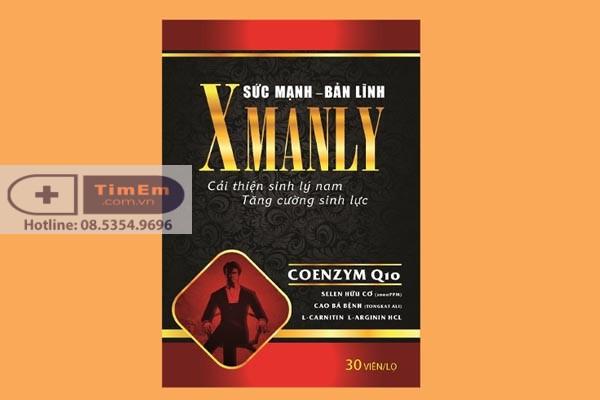 Thuốc cường dương X Manly
