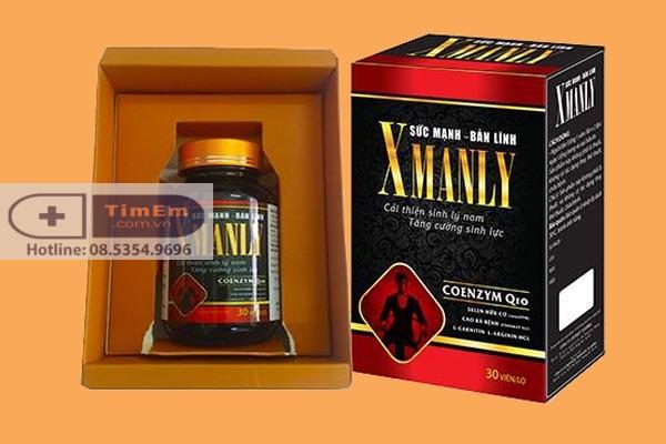 Thuốc cường dương X Manly có tốt không?