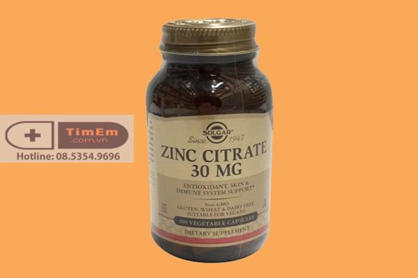 Thuốc cường dương Zinc Citrate 30mg