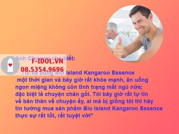 Review Bio Island Kagaroo Essence từ người dùng