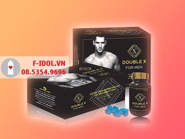 Mỗi hộp sản phẩm Double X For Men bao gồm 1 lọ