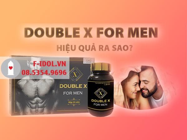 Double X For Men được nhiều người tin dùng lựa chọn