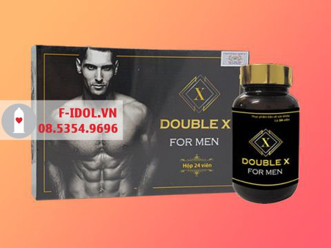 Thuốc tăng cường sinh lực: Double X For Men