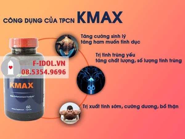 Kmax được nhiều người tin dùng lựa chọn