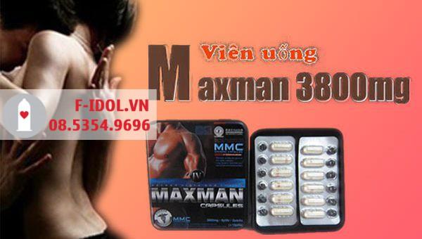 Viên uống tăng cường sinh lực: Maxman