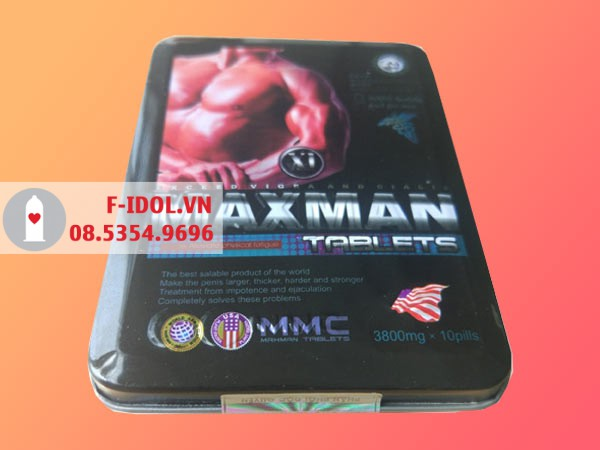 Đọc kỹ hướng dẫn sử dụng trước khi dùng Maxman