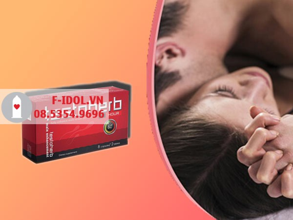 Testoherb 1hour hiện đang được bán tại các nhà thuốc trên toàn quốc