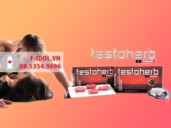 Đọc kỹ hướng dẫn sử dụng Testoherb 1hour trước khi dùng