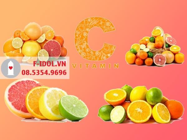 Vitamin C- Thành phần có trong Vigaron