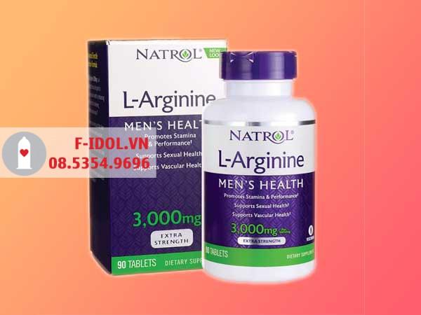 L- Arginine được sản xuất bởi hãng Natrol có trụ sở tại Mỹ và hiện đang được lưu hành và phân phối ở rất nhiều quốc gia trên thế giới