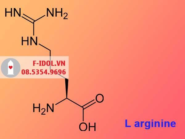 L- ariginine- Thành phần có trong sản phẩm