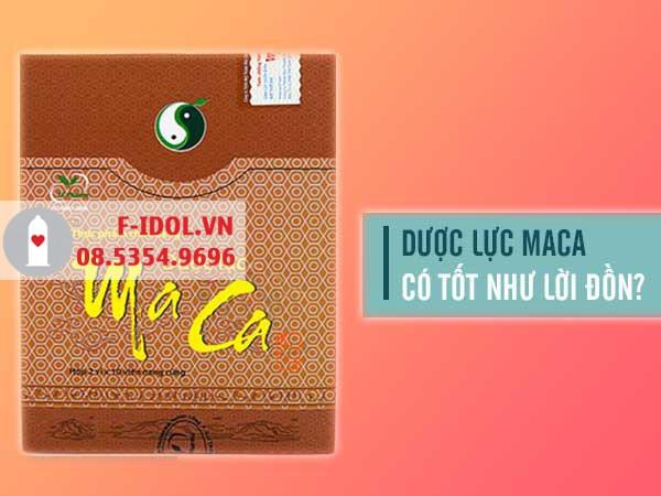 Dược Lực Maca hiện đang được bán tại các nhà thuốc trên toàn quốc