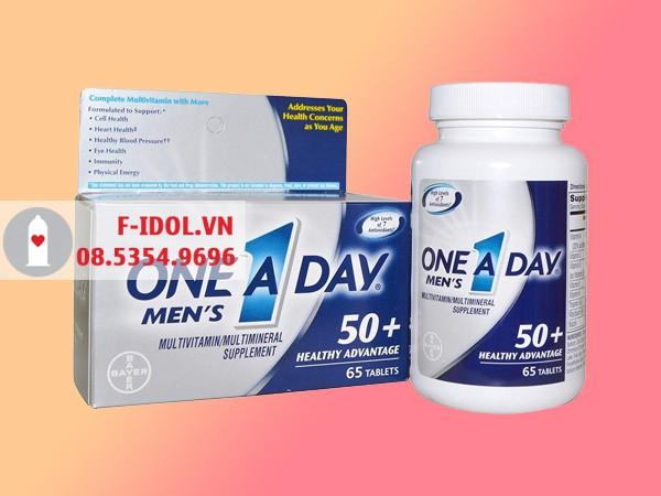 One a day Men's 50 được bán ở nhiều nơi
