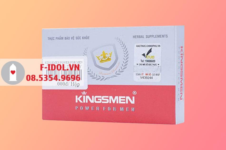 Kingsmen Power For Men dạng vỉ