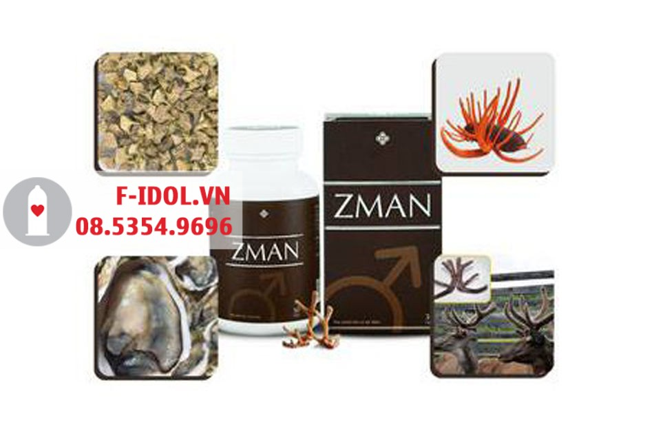 Các thành phần chính có trong Zman
