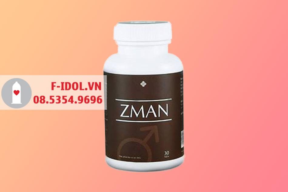 Hình ảnh lọ viên uống sinh lý Zman