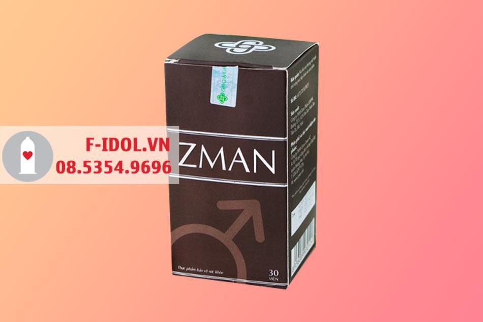 Hình ảnh hộp viên uống sinh lý Zman