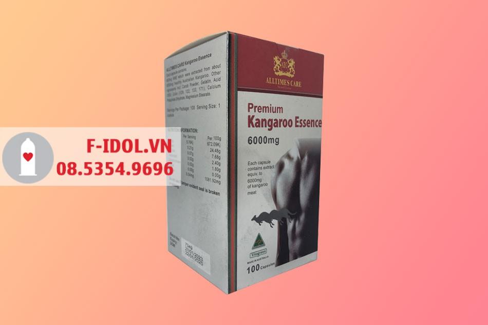 Premium Kangaroo Essence 6000mg bào chế dạng viên nang mềm